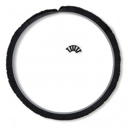 Brush ring, 1-piece