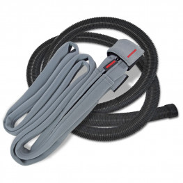 Protective cover incl. suction hose