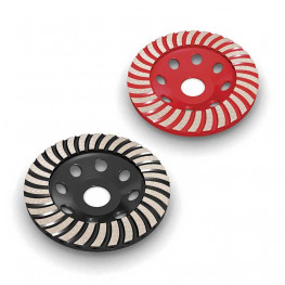 Turbo diamond cup wheel