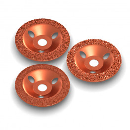 Carbide grit cup wheel